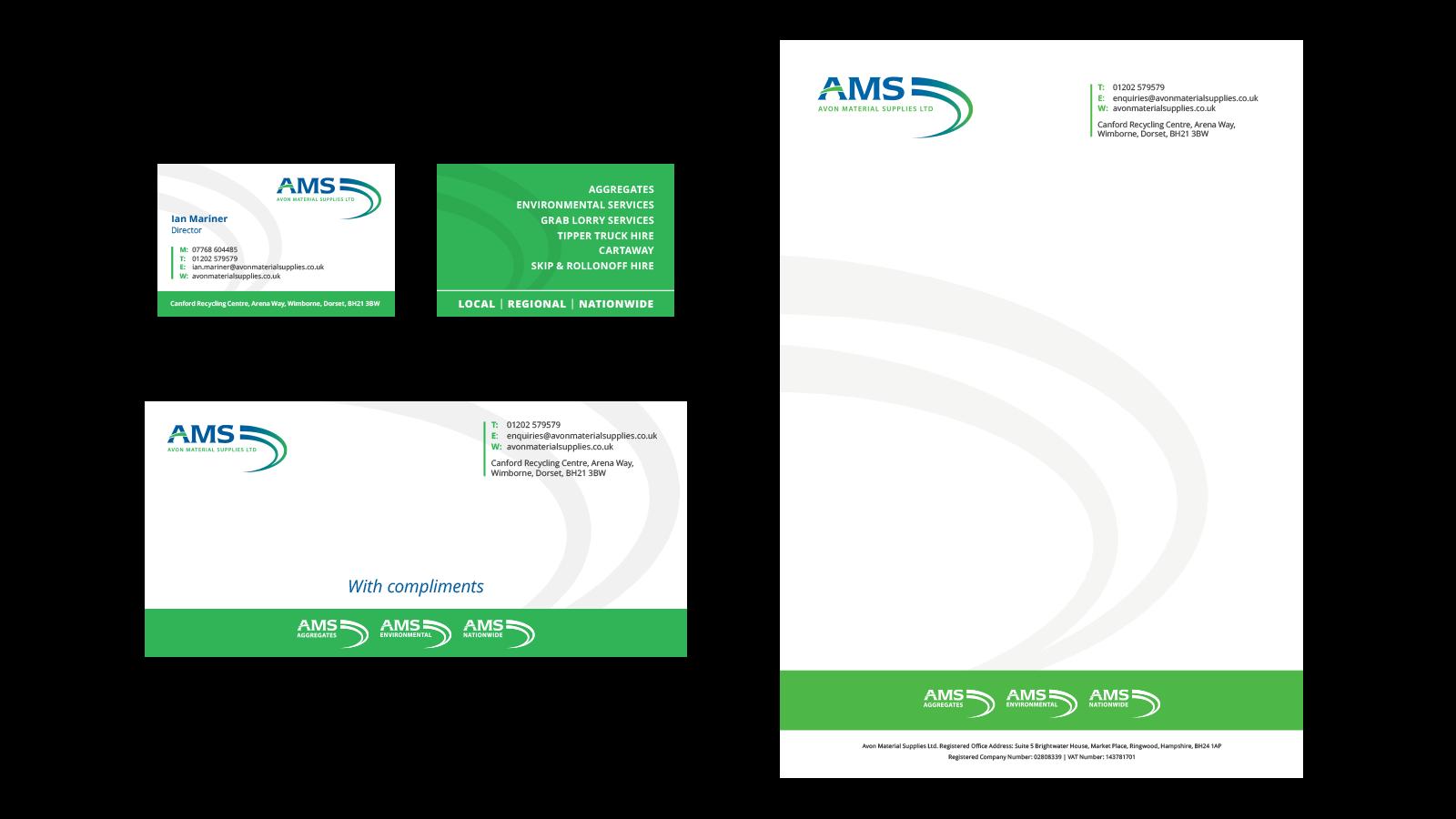 AMS stationary