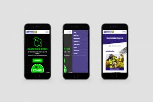 Enduro Tyres website mobile responsive