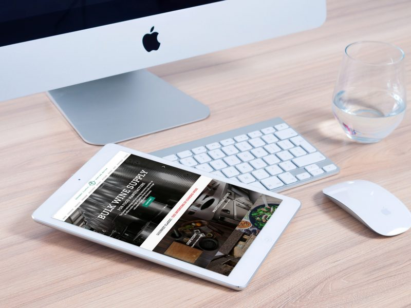 Gourmet Classic website tablet responsive