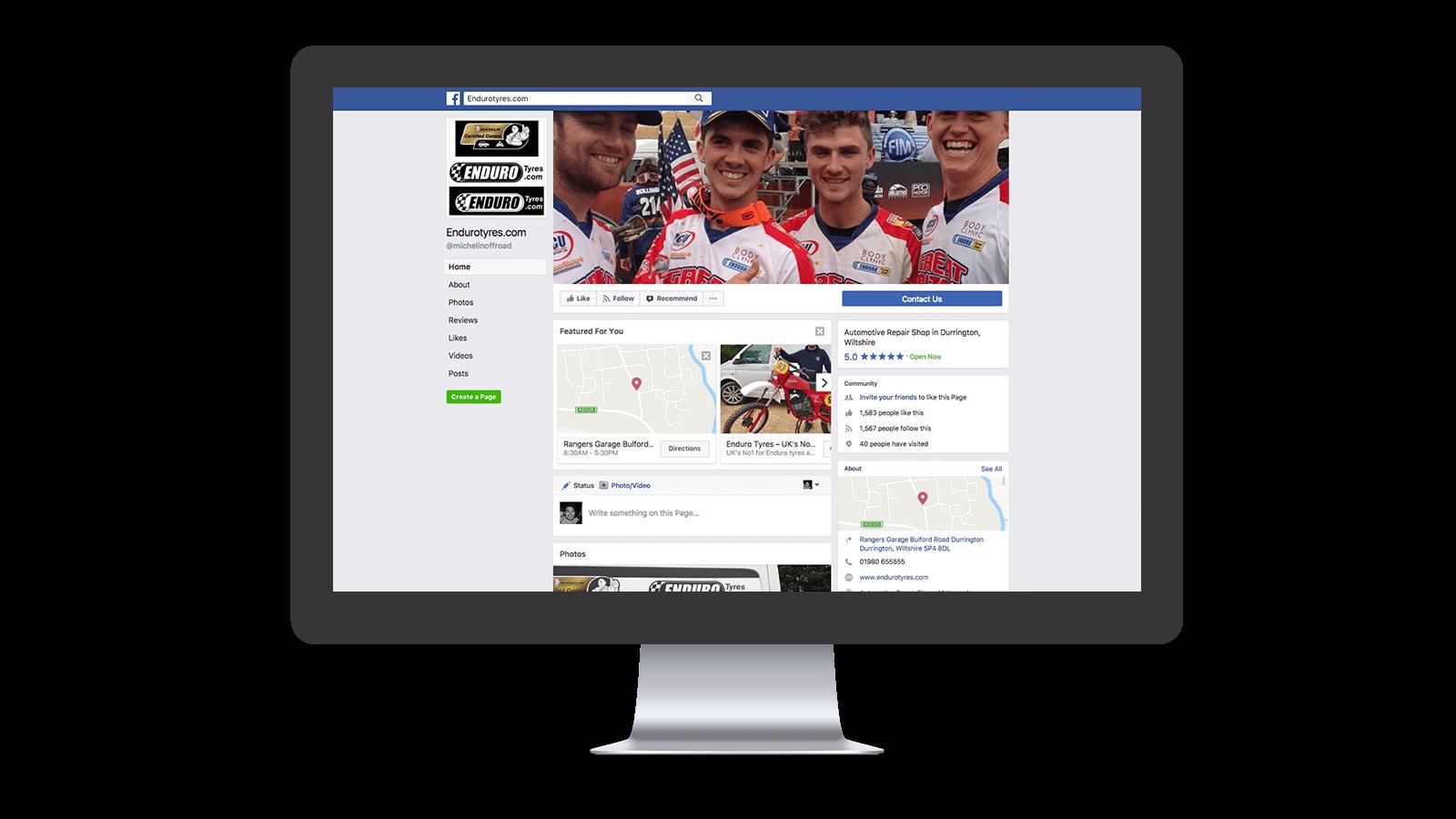 Enduro Tyres facebook page