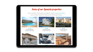Spanish Legal Homes properties page