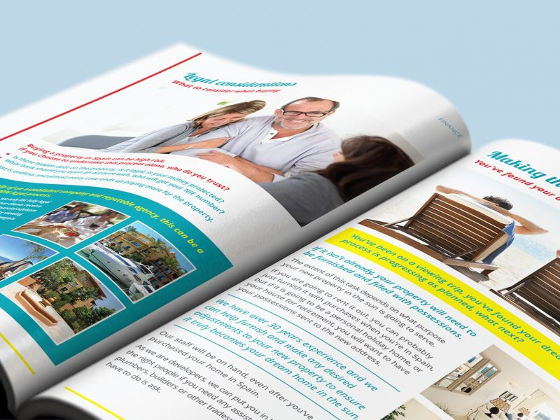 Spanish Legal Homes brochure