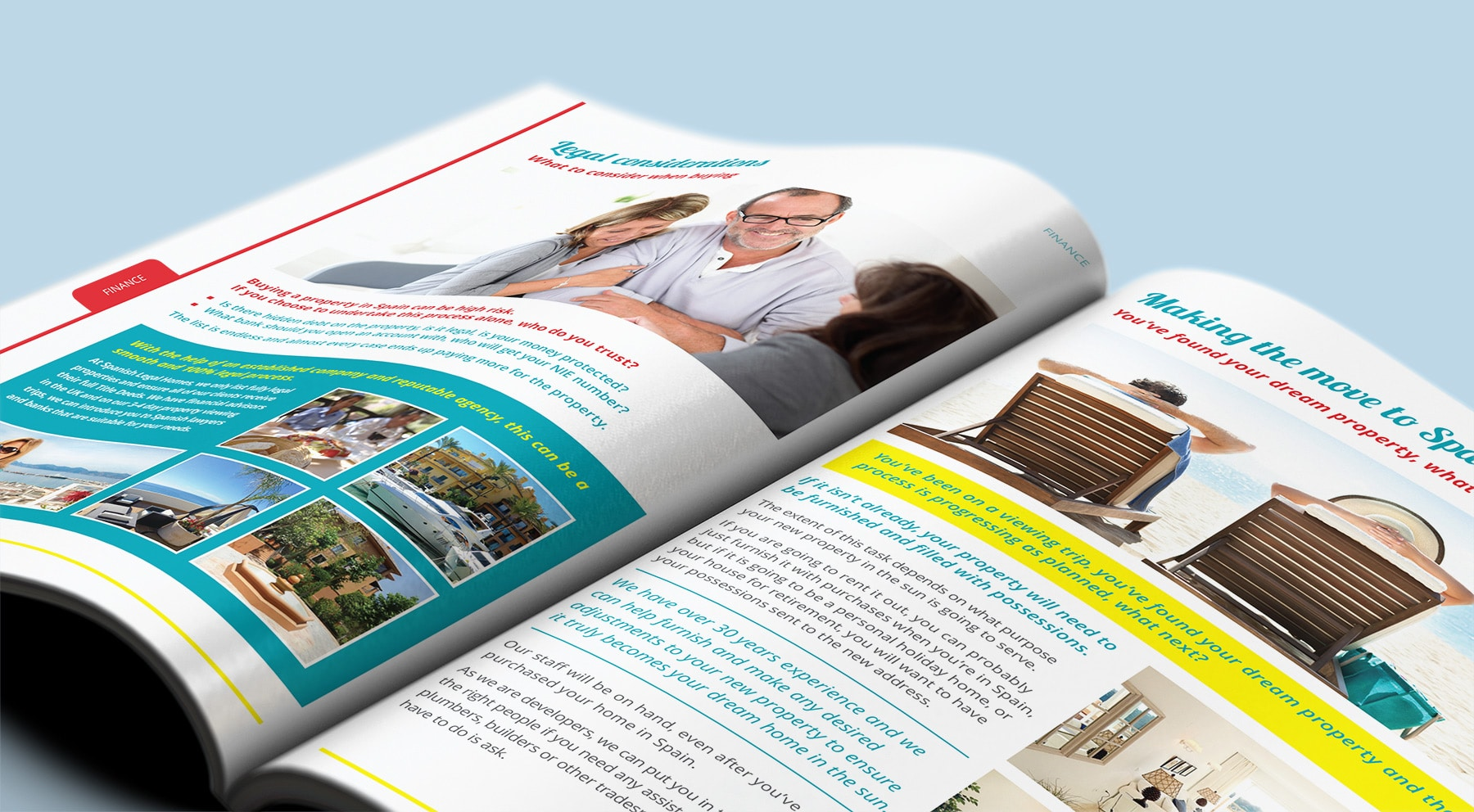 Spanish Legal Homes   CW Marketing Agency Dorset Case Studies