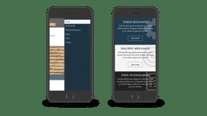 Ten-25 responsive design mobile