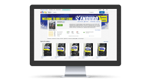 Enduro Tyres ebay shop design