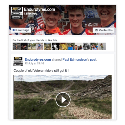 Enduro Tyres Facebook Feed