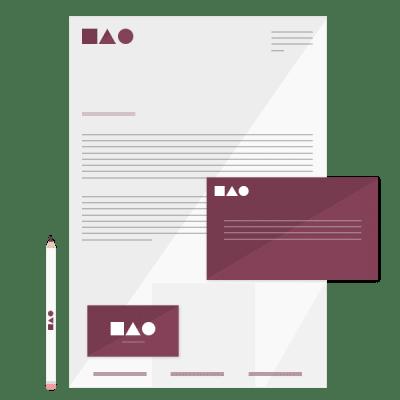 Graphic Design Stationary Kit