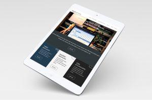 Ten-25 website tablet responsive