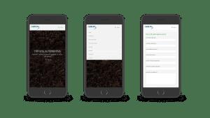 Avon Material Supplies responsive design mobile
