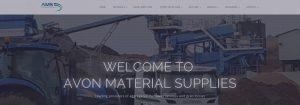 Avon Material Supplies website banner