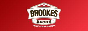 Brookes bacon logo banner