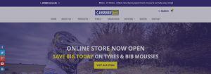 Enduro Tyres website banner