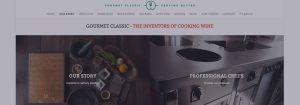Gourmet Classic website banner