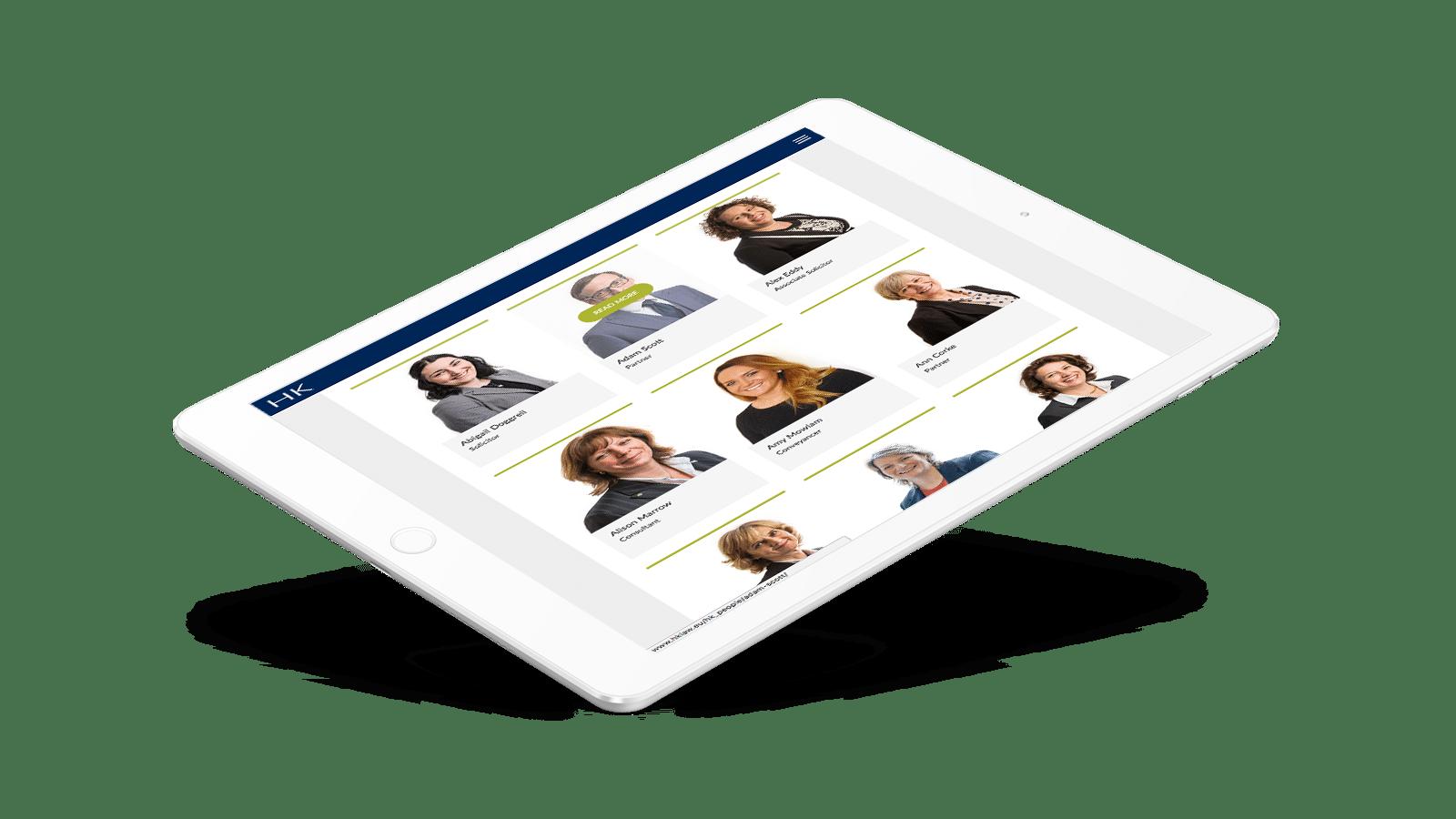 Humphries Kirk Tablet responsive