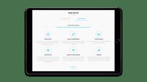 MVS Audio visual tablet