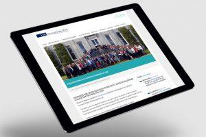 Humphries Kirk website tablet version