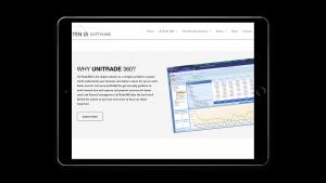 Ten-25 responsive design tablet