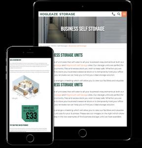 Hogleaze Storage | Marketing Case Studies | CW Marketing