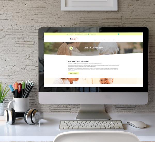 Website design Dorset case study