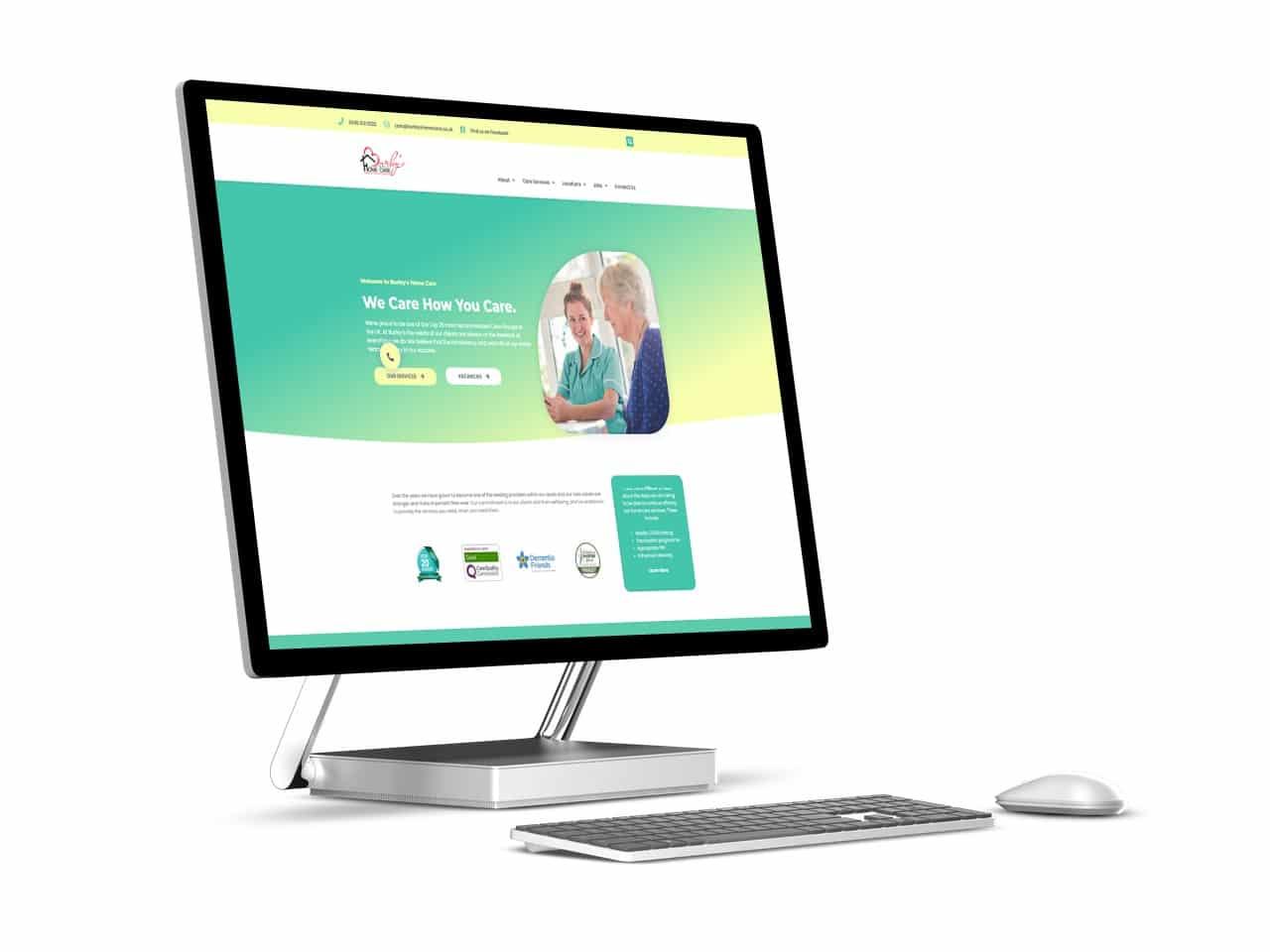 Website design case study Dorset